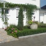 Eingangsbepflanzung